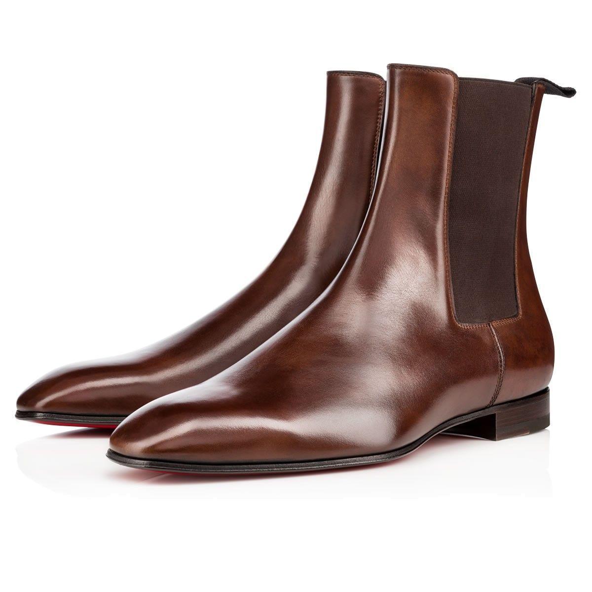 dffc04407d9e7a Men Shoes - Roadie Calf - Christian Louboutin  christianlouboutinflats Mens  Smart Boots