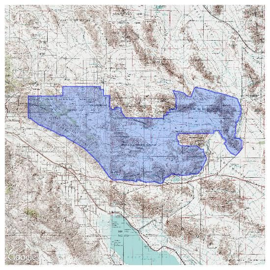 Joshua Tree Topographic Map.Joshua Tree National Park Topo Maps For Iphone Android Ipad