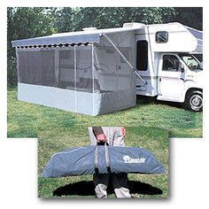 New Open Air by Camco 14' RV camper Deluxe Screen Room | eBay