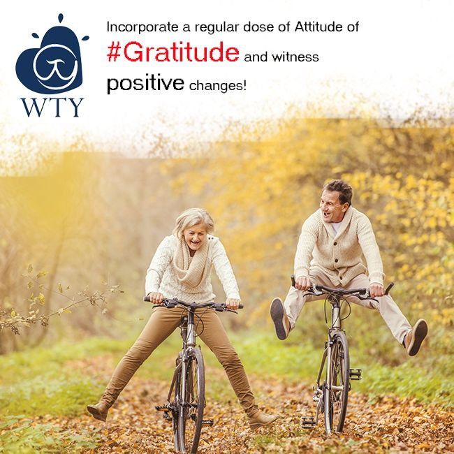 If your fast paced life is keeping you from enjoying what's around you, Try incorporating a regular dose of Attitude of #Gratitude!