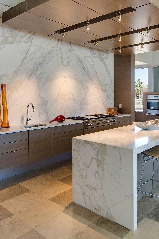 31 Luxury Calacatta Gold Marble Backsplash Countertop Ideas