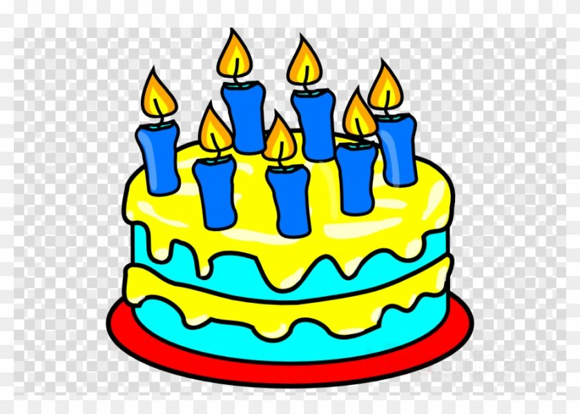 Picture Of A Birthday Cake With 7 Candles In 2020 Cake Candles Birthday Cake