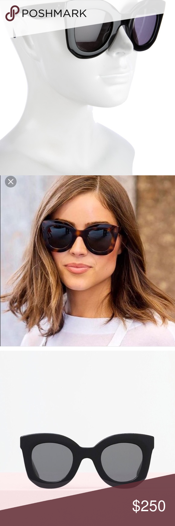 9e9ebd9a971 Celine Baby Marta Sunglasses Worn once. Comes with case. 100 percent  authentic. Paid 365 plus tax from Celine. Celine Accessories Sunglasses