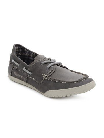 5c543952d United Colors of Benetton Men Grey Shoes