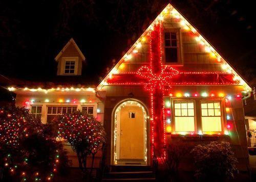 Christmas Lights Decoration Outdoor House Christmas Exterior Merry Christmas Christma Exterior Christmas Lights Holiday Lights Display Hanging Christmas Lights