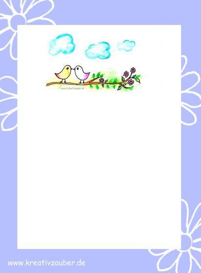 Briefpapier kinder briefpapier ausdrucken und kostenlos - Briefpapier vorlagen kostenlos ...