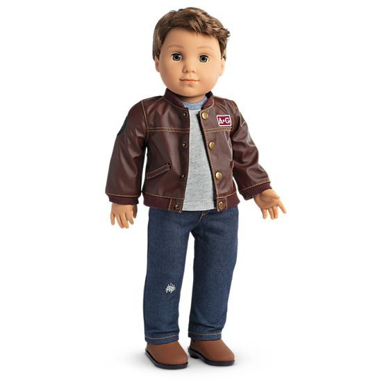 T Shirt Pants Outfit For 18 in American Girl Logan Boy Doll