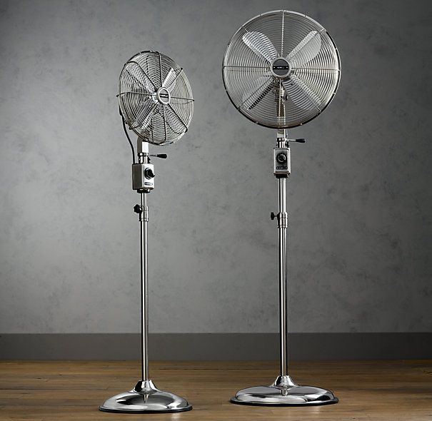 Allaire Telescoping Floor Fan :: $219 249 [discontinued, But Still  Available In