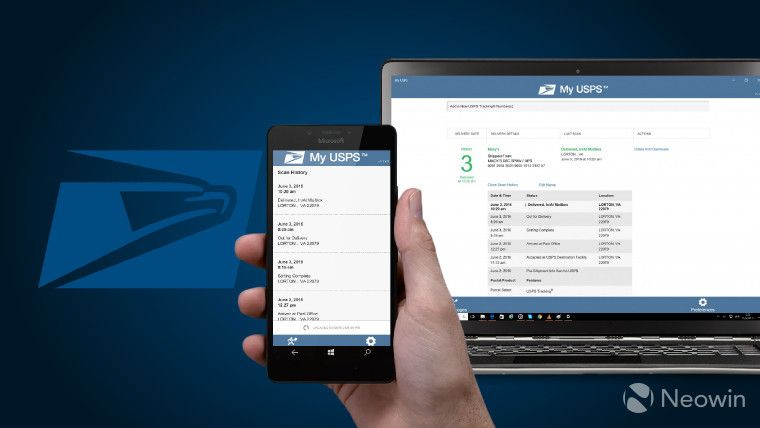 The new My USPS app lets users keep track of packages in
