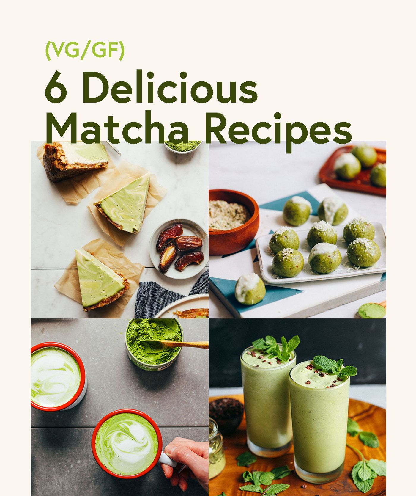 Photo of 6 Delicious Matcha Recipes | Minimalist Baker