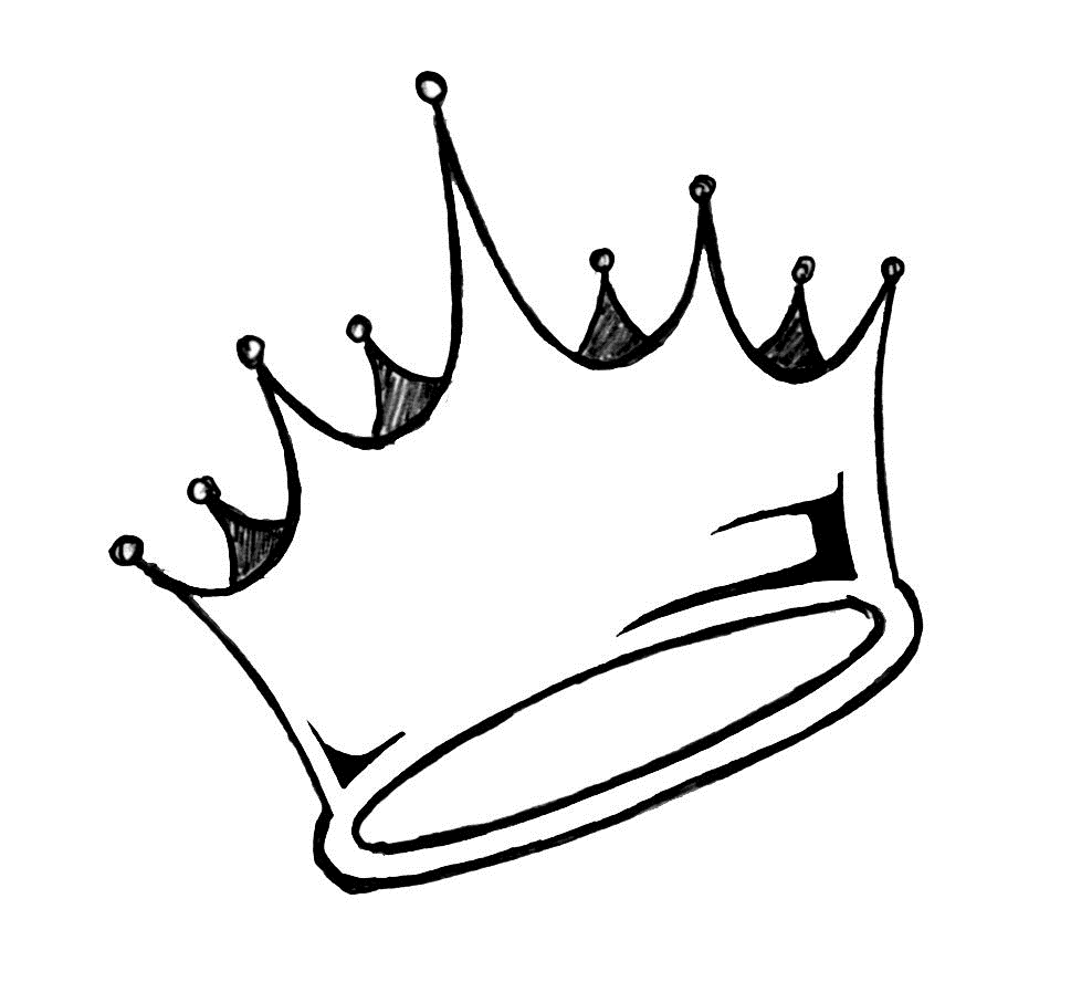 Queen Crown Black And White Cliparts Icons Drawings Crown