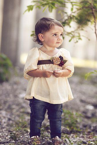Anleitung zum Nähen dieses hübschen Shirts für Babys und Kleinkinder ...