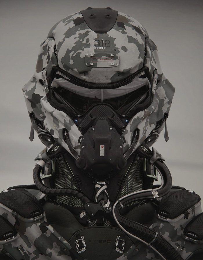 Lemanoosh Helmet Concept Armor Concept Futuristic Armour