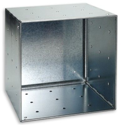 Galvanized QBO® Steel Cube  sc 1 st  Pinterest & Galvanized QBO Steel Cube | Pinterest | Cube Steel and Container store