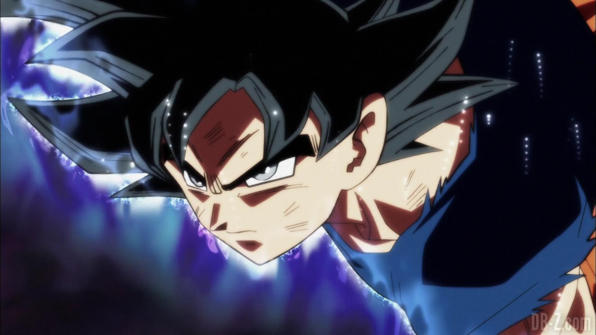 Dragon Ball Super Episode 109 110 261 Goku Ultra Instinct Yeux Argentes Sangoku Dragon Ball Super Anime Mangas