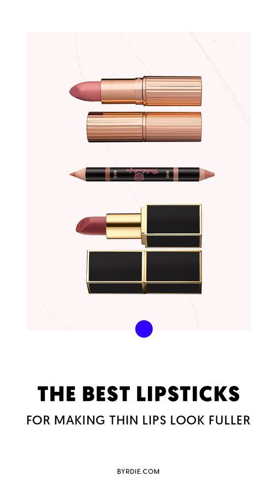 Plumping Lipsticks Actually Make Thin Lips Look Fuller Plumping Lipsticks Actually Make Thin Lips L