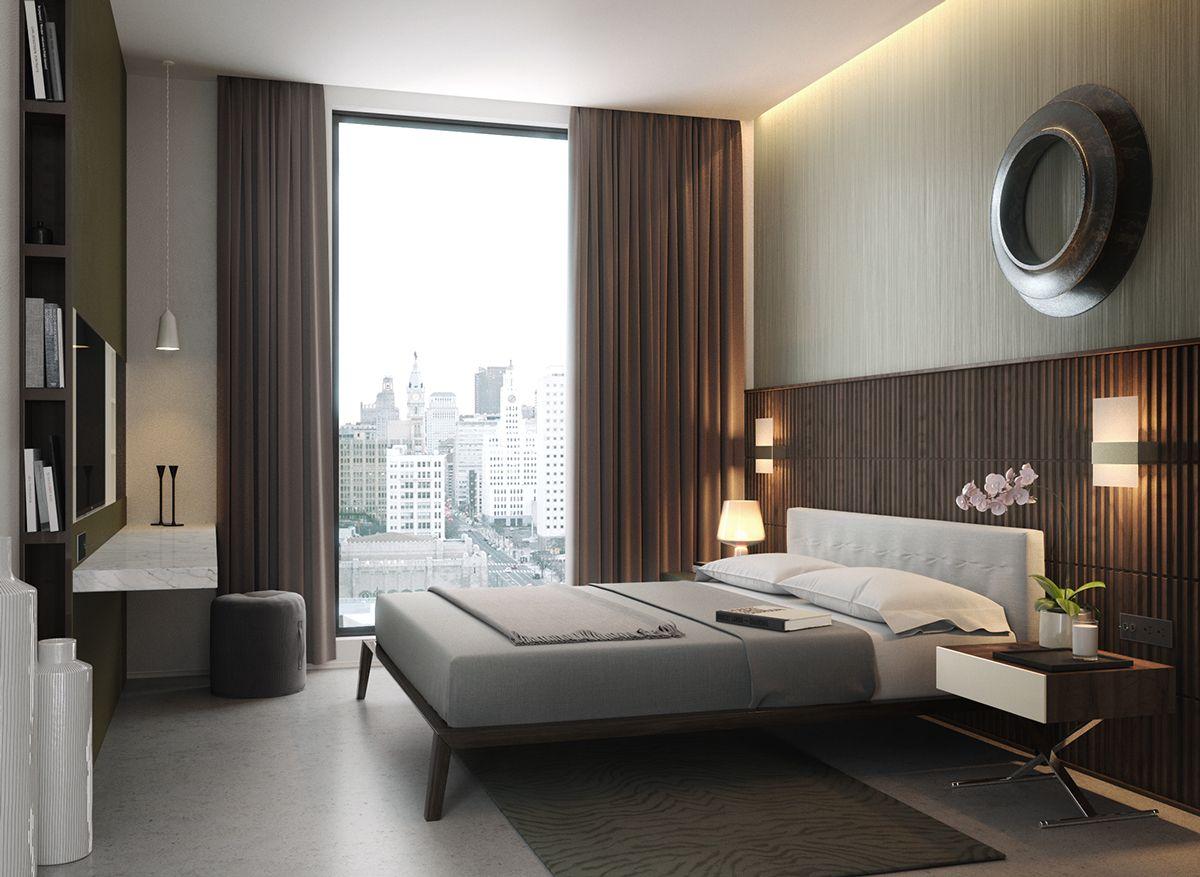 Olaya hotel suites on behance render pinterest for Master arredamento interni