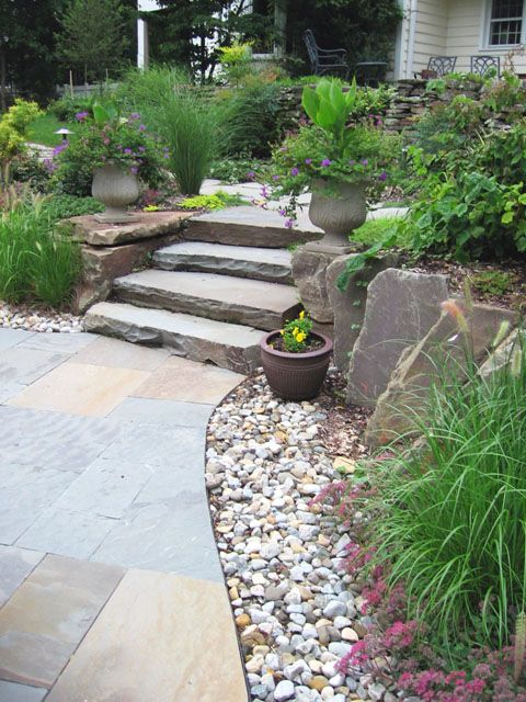 Slope Retaining And Landscaping Ideas Nj Landscaping With Rocks