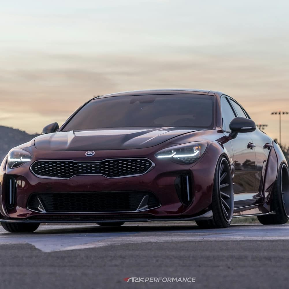 Yay Or Nay For This Custom Kia Stinger Gt Widebody Makeover Kia