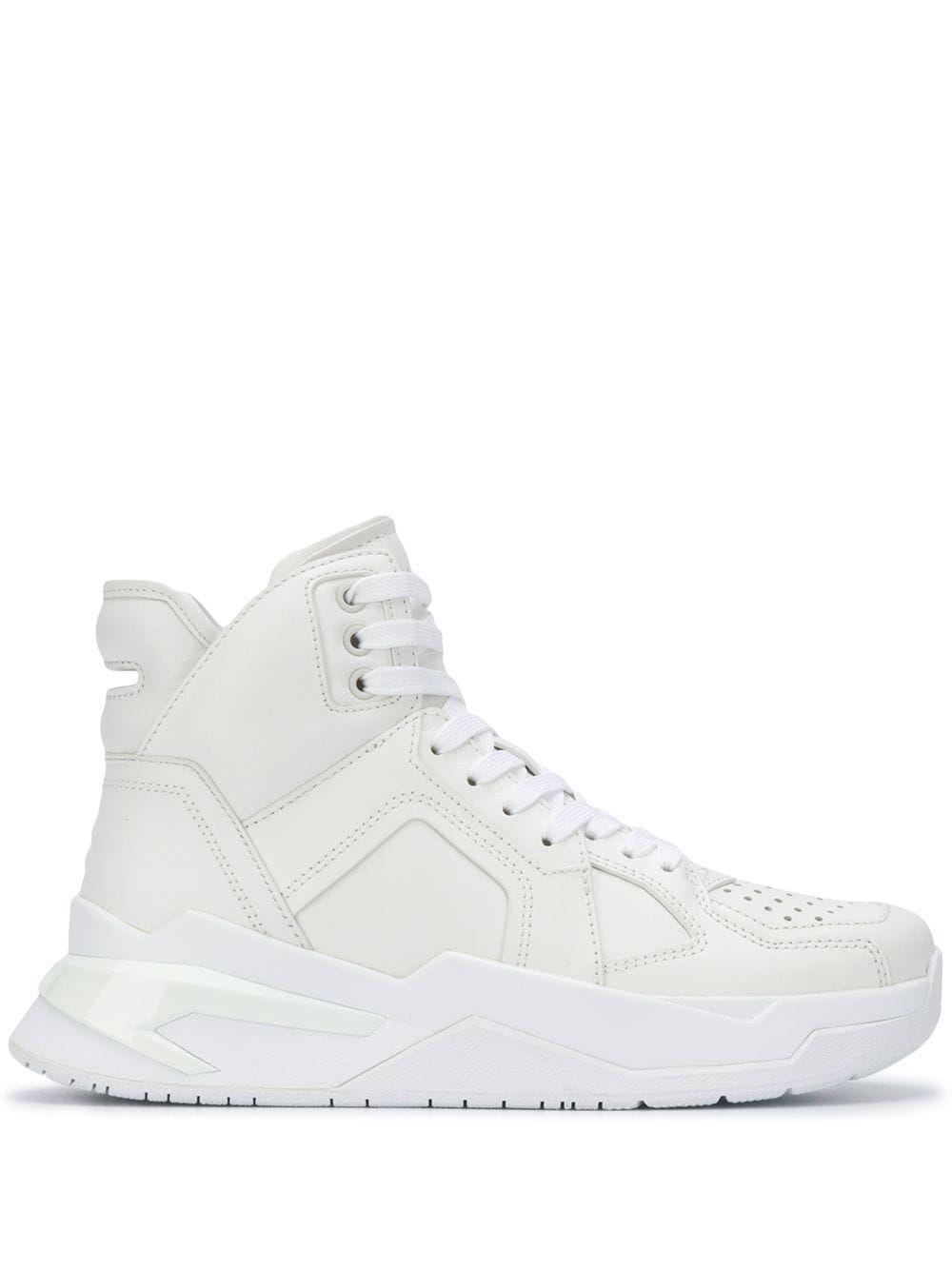 Balmain B-Ball High Top Sneakers