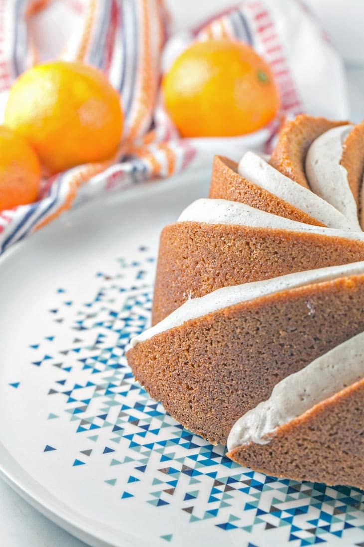 Cinnamon clementine bundt cake recipe with images