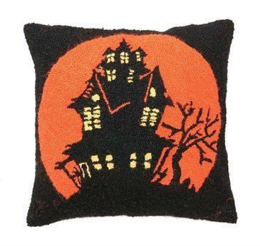 Peking Handicraft Halloween Haunted House Hook Pillow Halloween - menards halloween decorations