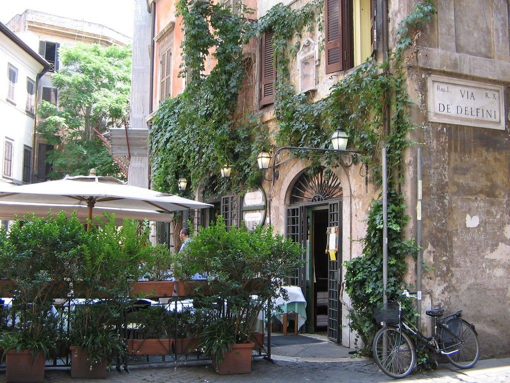 La Taverna Degli Amici Piazza Margana 37 Roma Lazio 00186 It