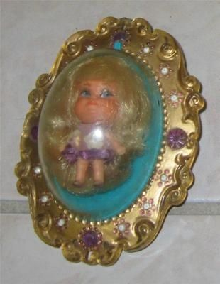 toys games dolls of the 1960, and 1970 | 1960s MATTEL LUCKY LOCKET DOLLS