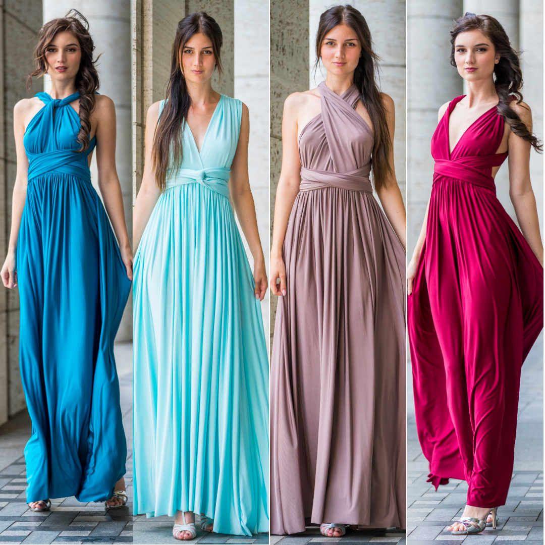 crusz Wickelkleid  Wickelkleid, Abendkleid, Alltagskleid