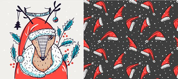 Christmas collection 2014 on Behance