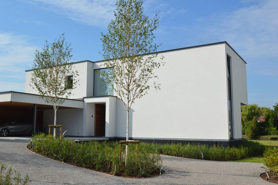 Drongen residenti le moderne woning huizen pinterest for Moderne strakke huizen