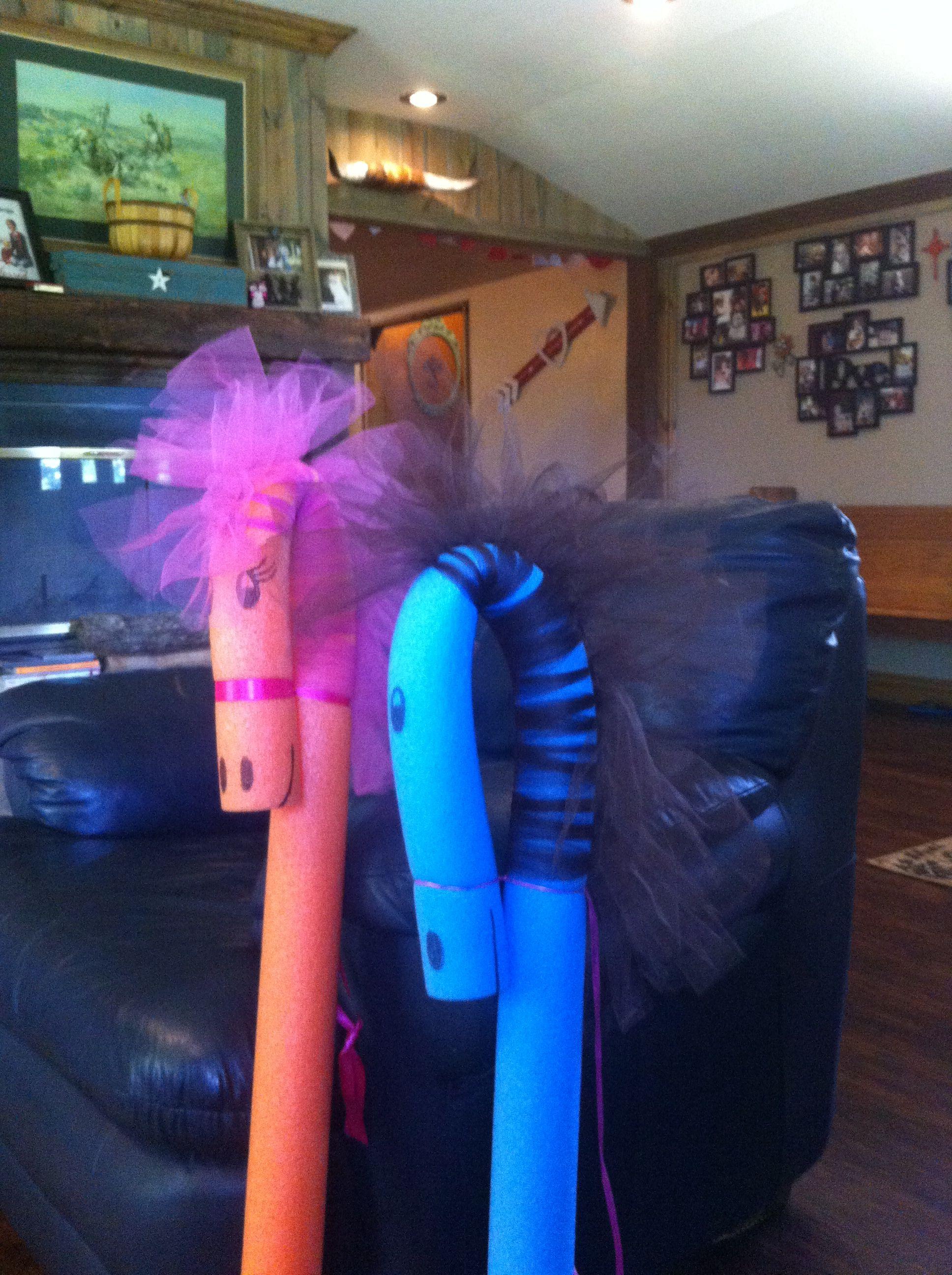 Pool Noodle Horse Pinkie Pie Little Pony Party Kinderbasteleien