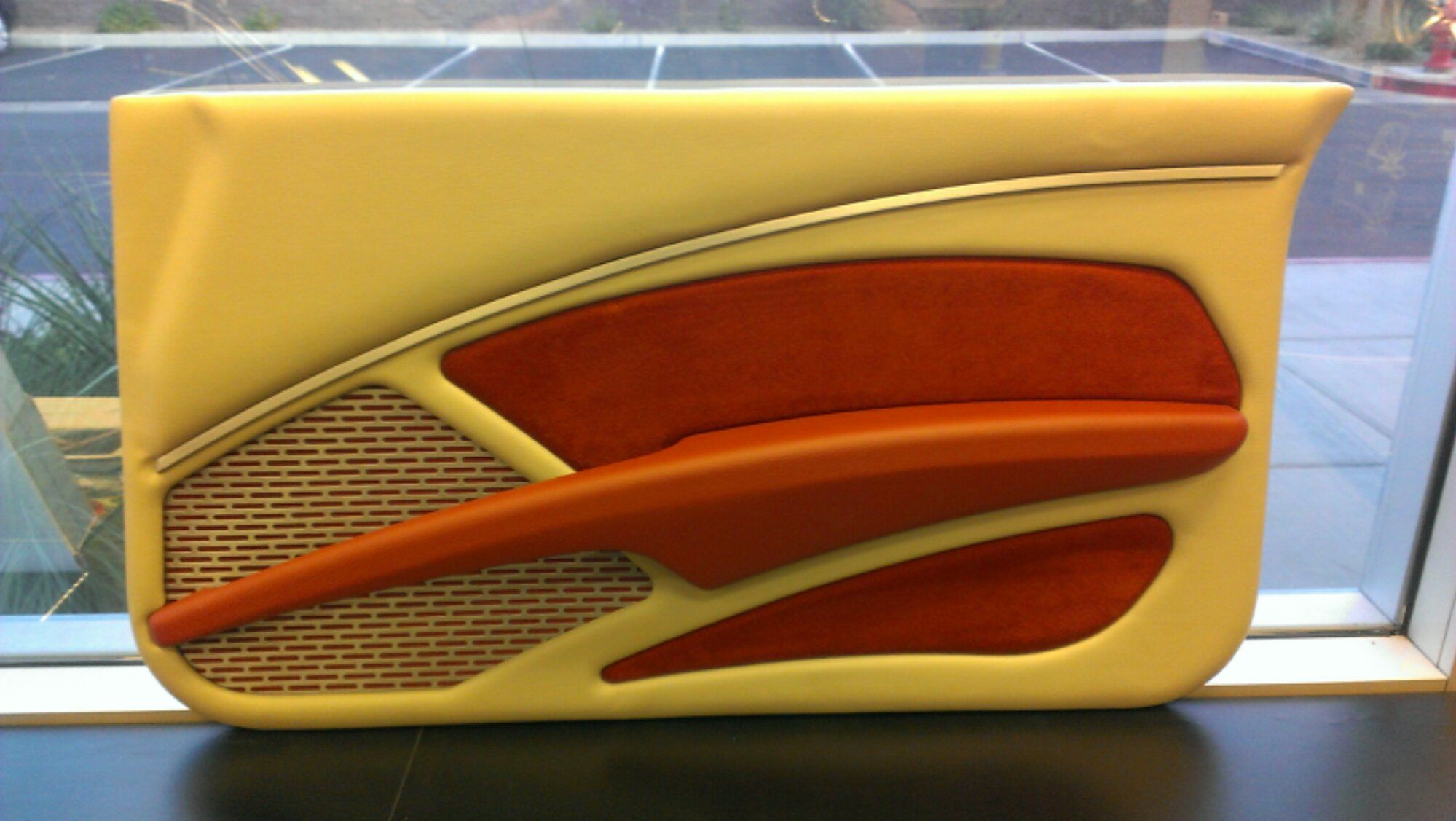 Custom Door Panels  This door panel is completely hands