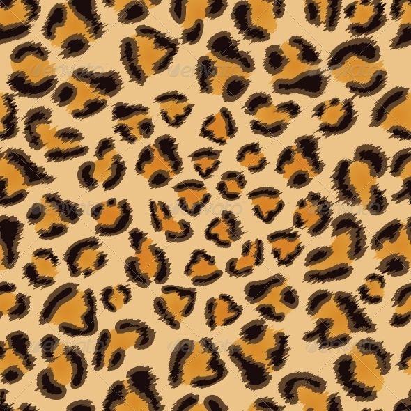 Leopard Seamless Pattern Vector Art Cellphone Wallpaper Backgrounds Seamless Patterns