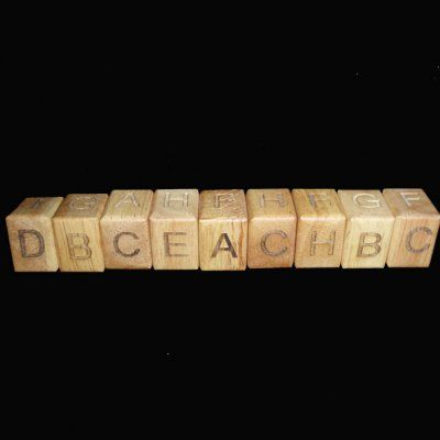 Alpha Snake I-9 Puzzle - Arrange so that no letters ...