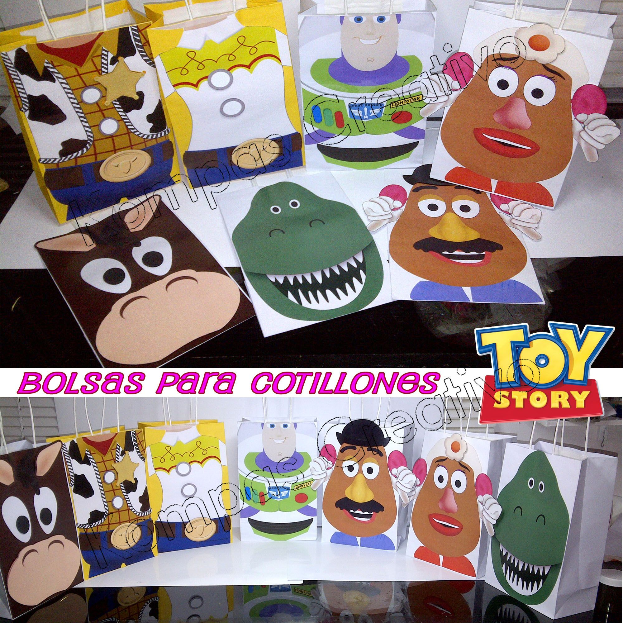Toy story party ideas birthday in a box - Cotillones Toy Story Ideas Partytoy Storybirthdaychild Partiesboxes