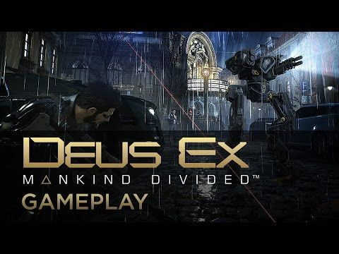 Hacking And Attacking Gameplay Deus Ex Mankind Divided