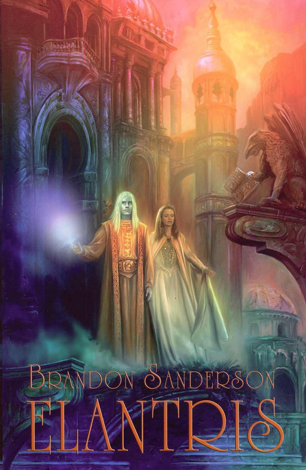 Image result for Elantris by Brandon Sanderson
