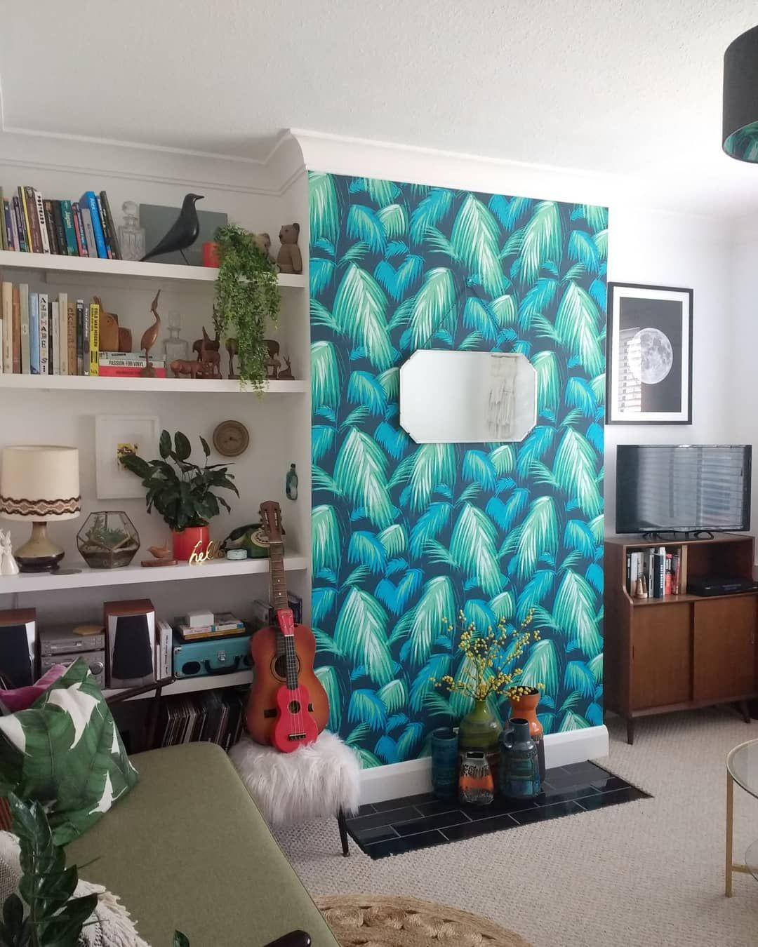 Front Room Matthew Williamson Wallpaper And Diy Alcove She
