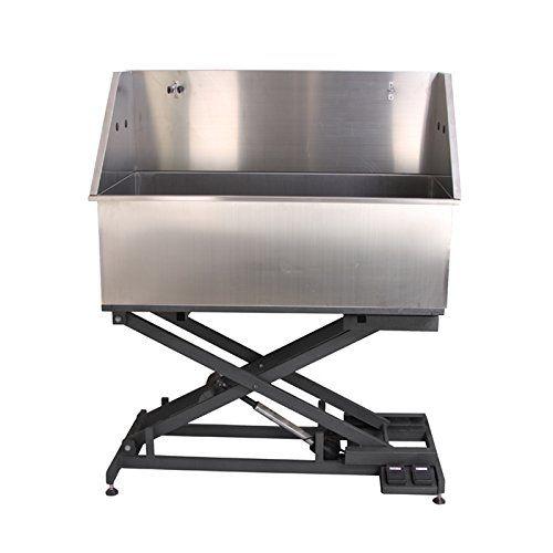 Luxe Electric Lift Grooming Tub ComfortGroom