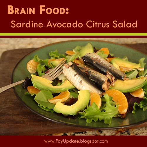 Foy update brain food sardine avocado citrus salad recipe paleo foy update brain food sardine avocado citrus salad recipe paleo and wahls diet or for anyone who wants to eat healthy yummy food forumfinder Image collections