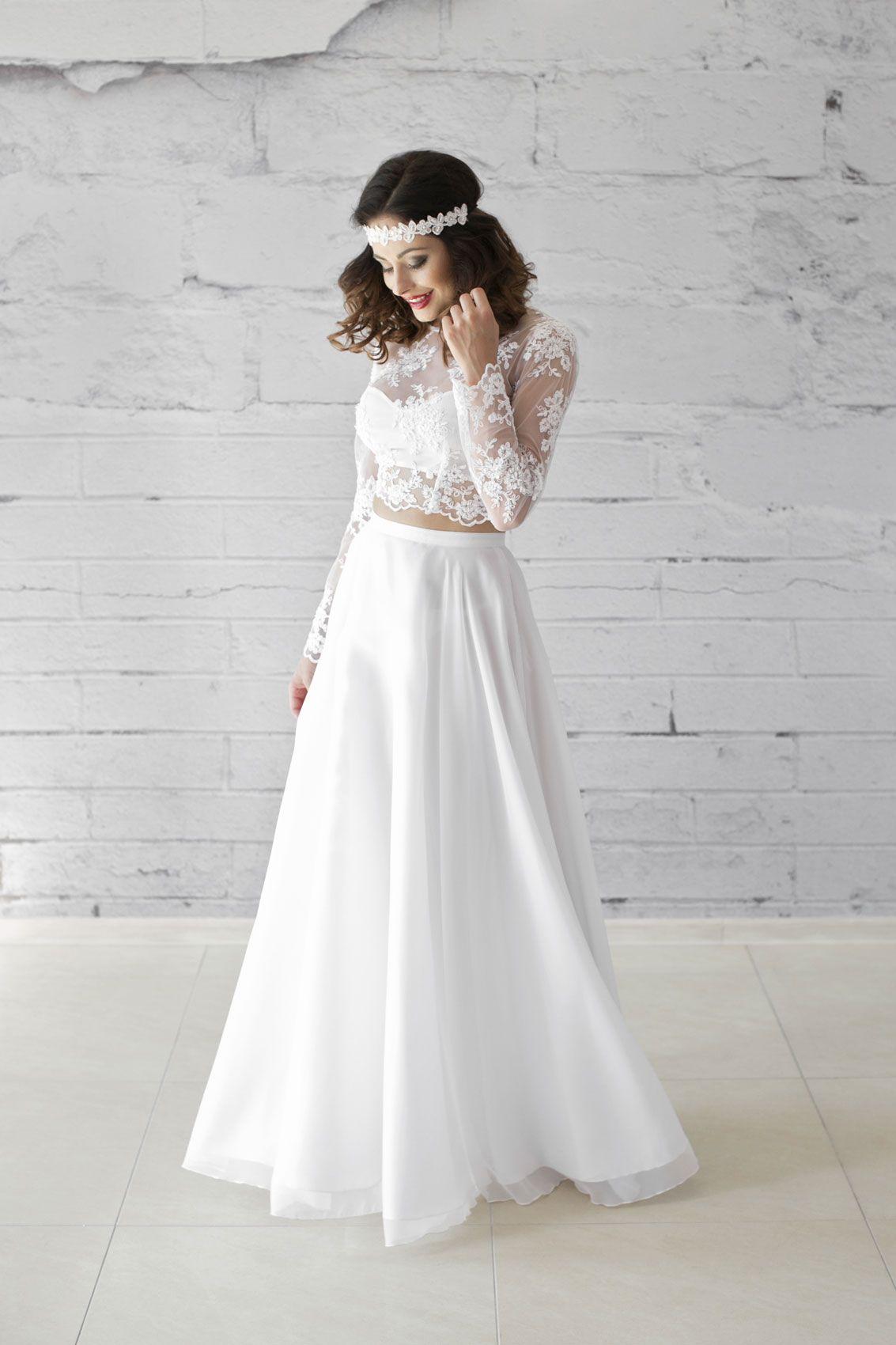 Hochzeitskleid Bauchfrei – Valentins Day  Hochzeitskleid spitze