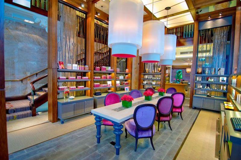 Contemporary luxury boutique hotel interior design of for Design boutique hotels chalkidiki