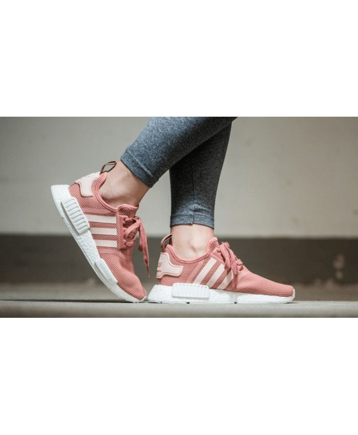 new concept 9ec35 05e06 Adidas NMD R1 Raw Pink Womens Trainers