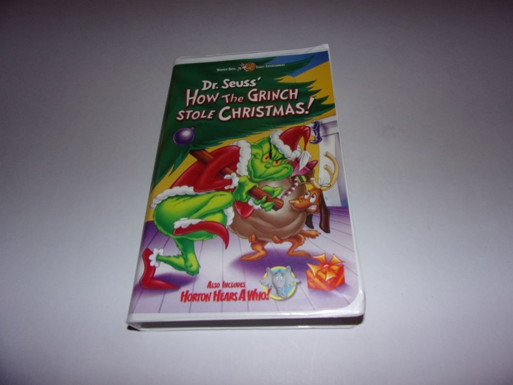 How The Grinch Stole Christmas 2000 Vhs.How The Grinch Stole Christmas Vhs 2000 Clam Shell Dr