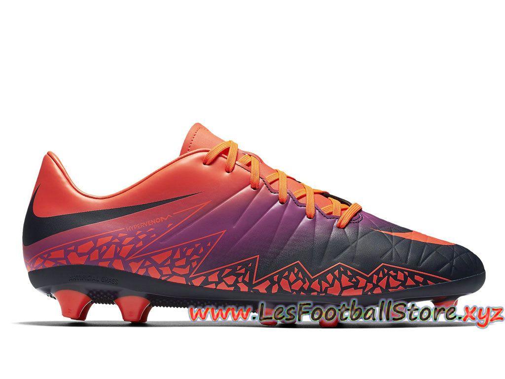 low priced d8796 84a83 Nike Hypervenom Phelon II AG-PRO Chaussure de football à crampons pour  terrain synthétique pour Homme 844431 845 Noir Orange-Merci pour votre  confiance et ...