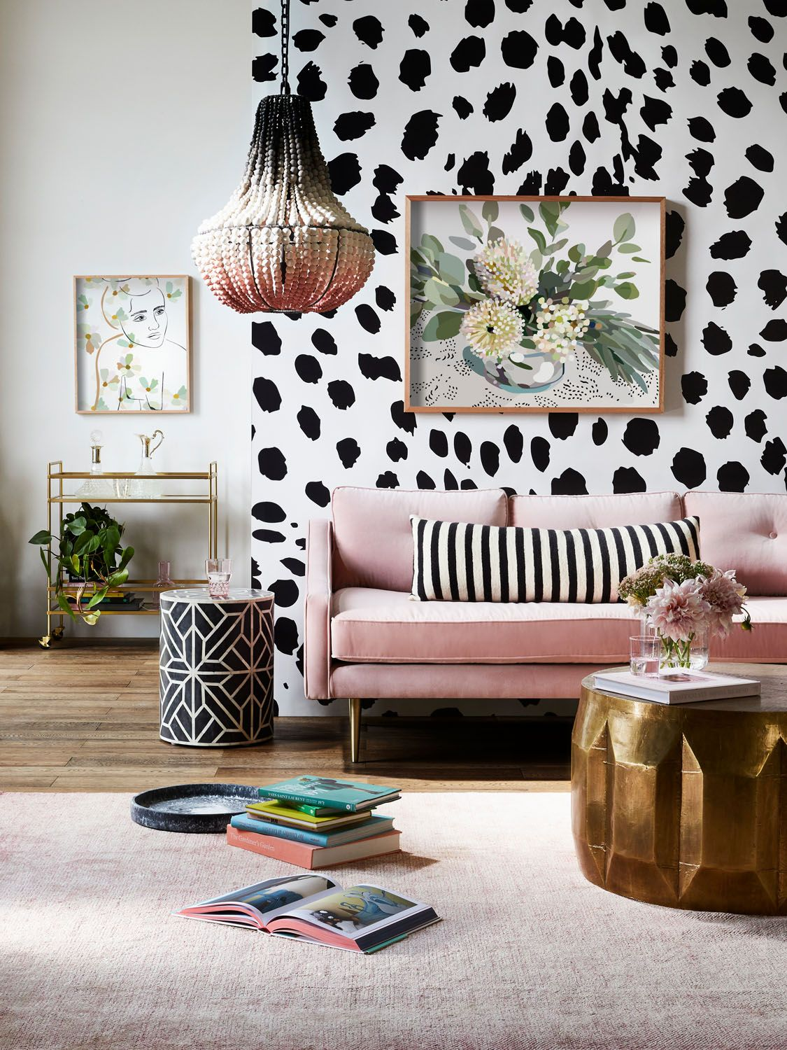 Pretty In Pink An Apartment Refresh Homegoods Pink Living Room White Home Decor Home Decor