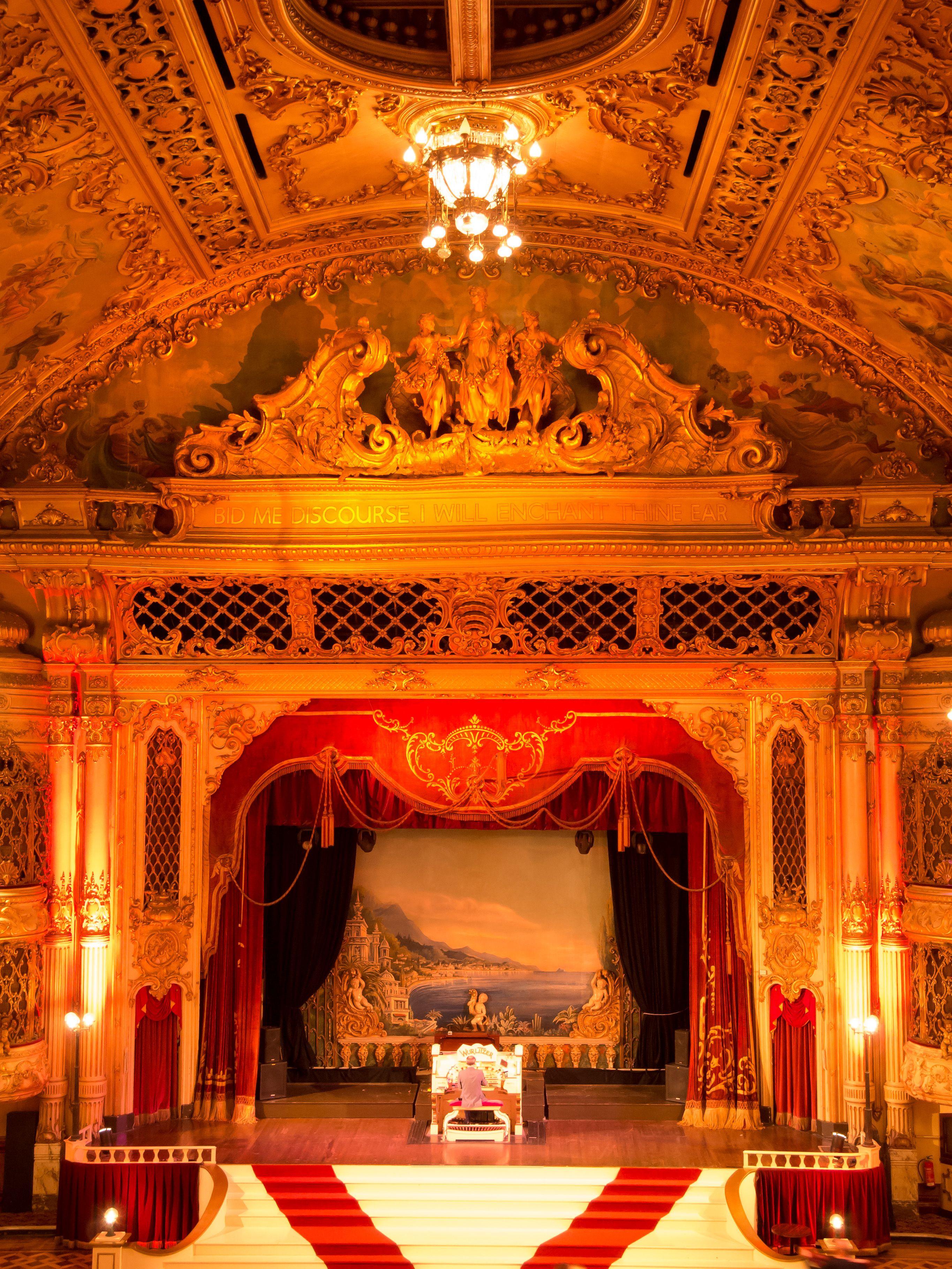 the blackpool tower ballroom and famous wurlitzer organ organs