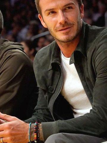 David Beckham Wearing Nialaya Jewelry Davidbeckham