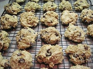 Quinoa Chocolate Chip and Peanut Butter cookies (gluten free)
